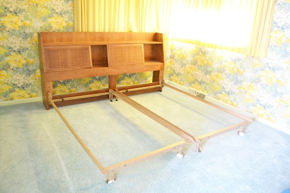 MCM Jack Cartwright For Founders Bookcase King Size Headboard ...