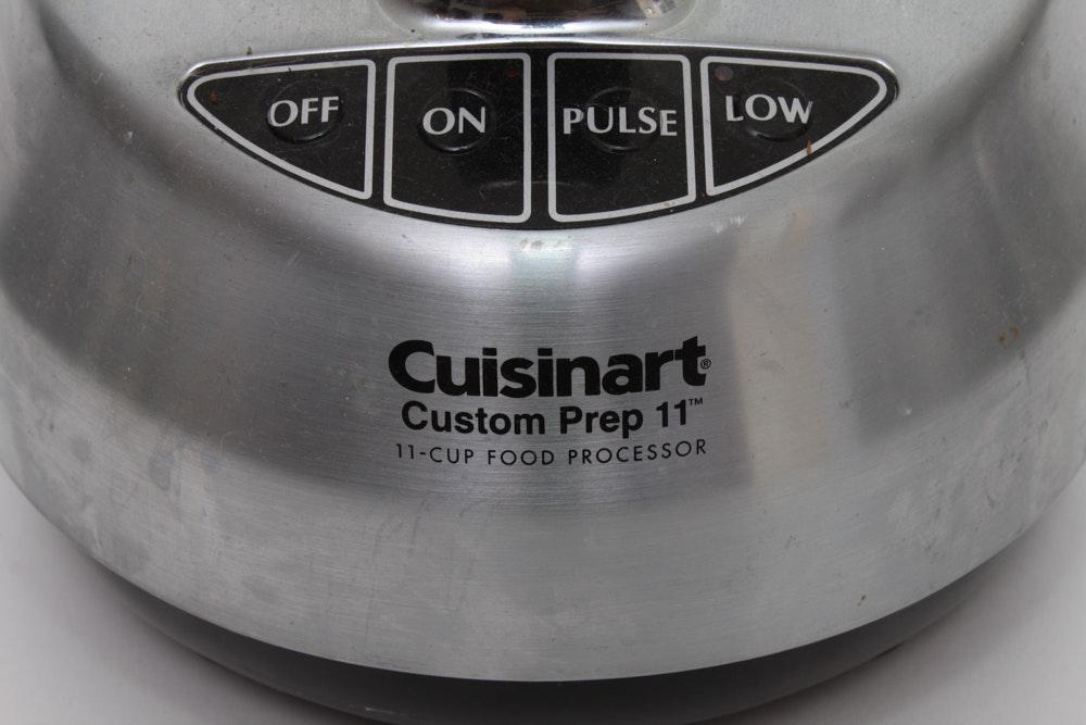 cuisinart 12 cup food processor manual