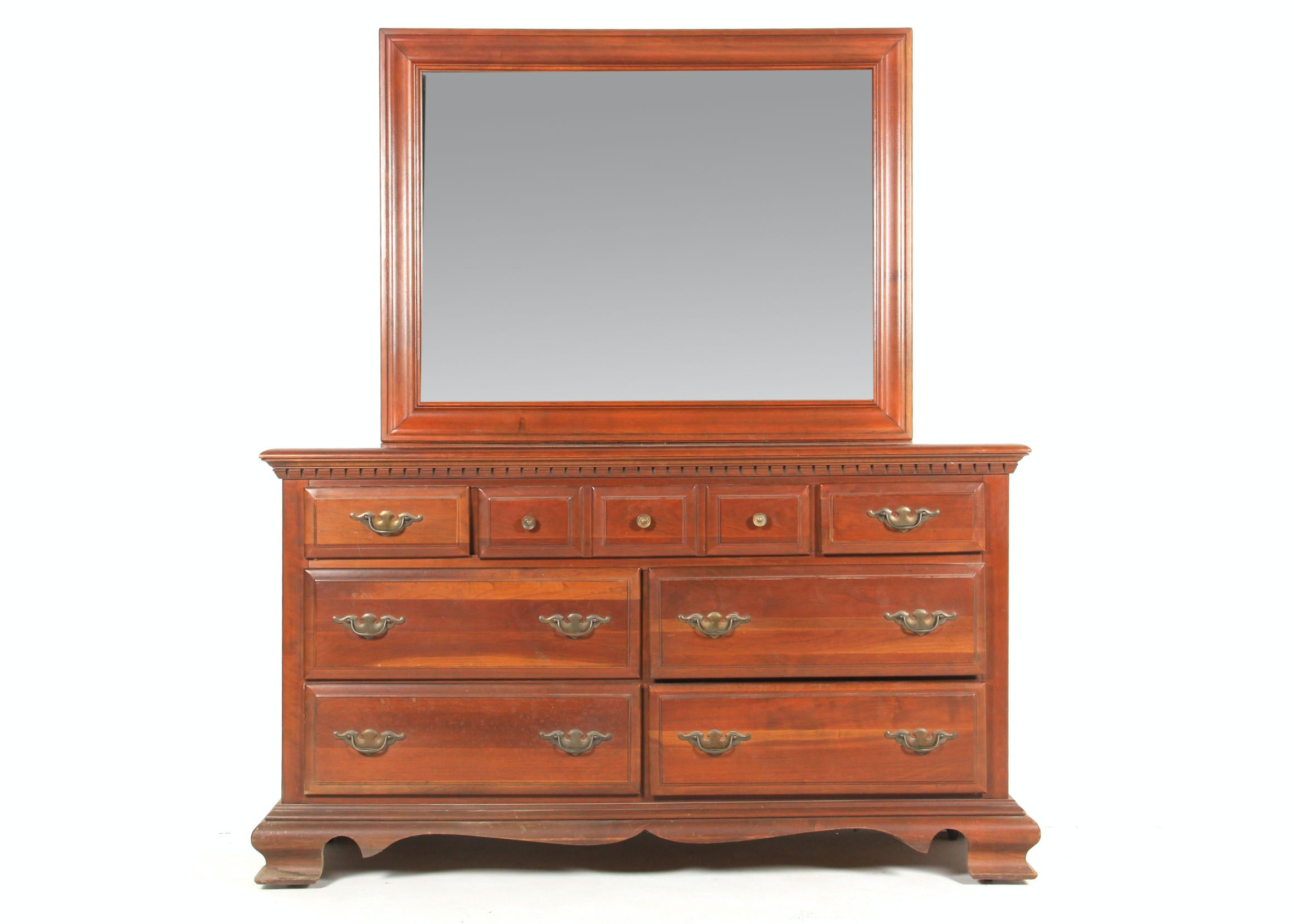 Pennsylvania House Cherry Bureau with Mirror