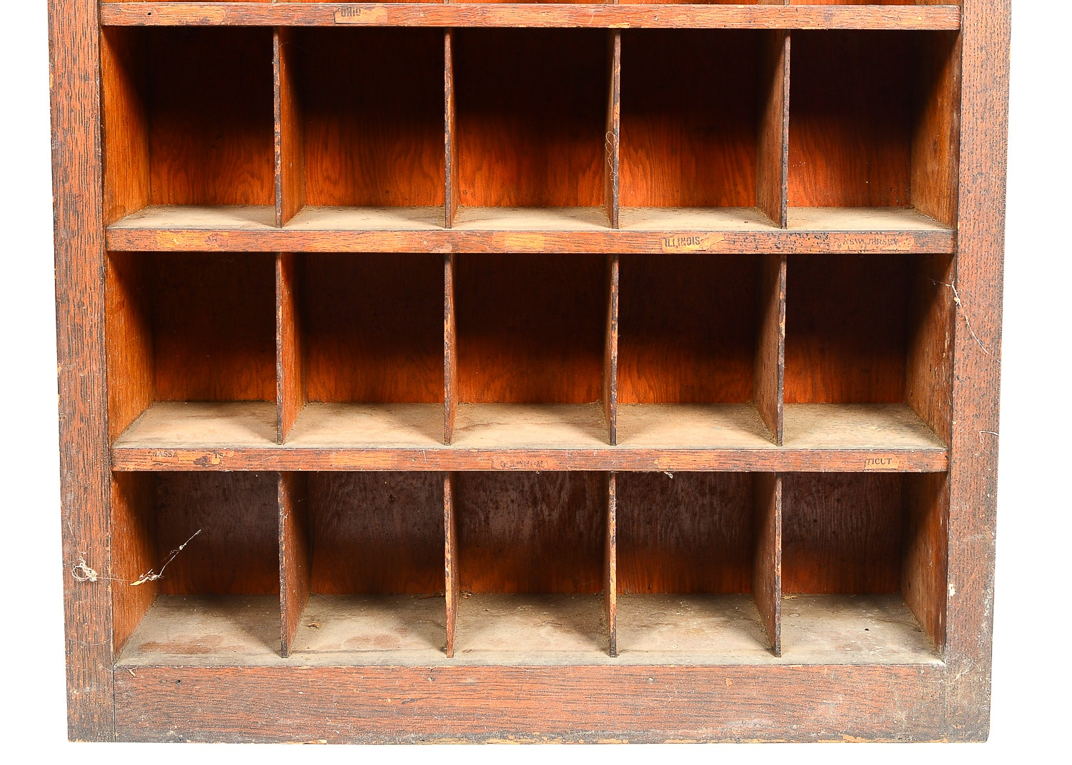 Antique Post Office Mail Sorter From L Amp N Railroad Ebth
