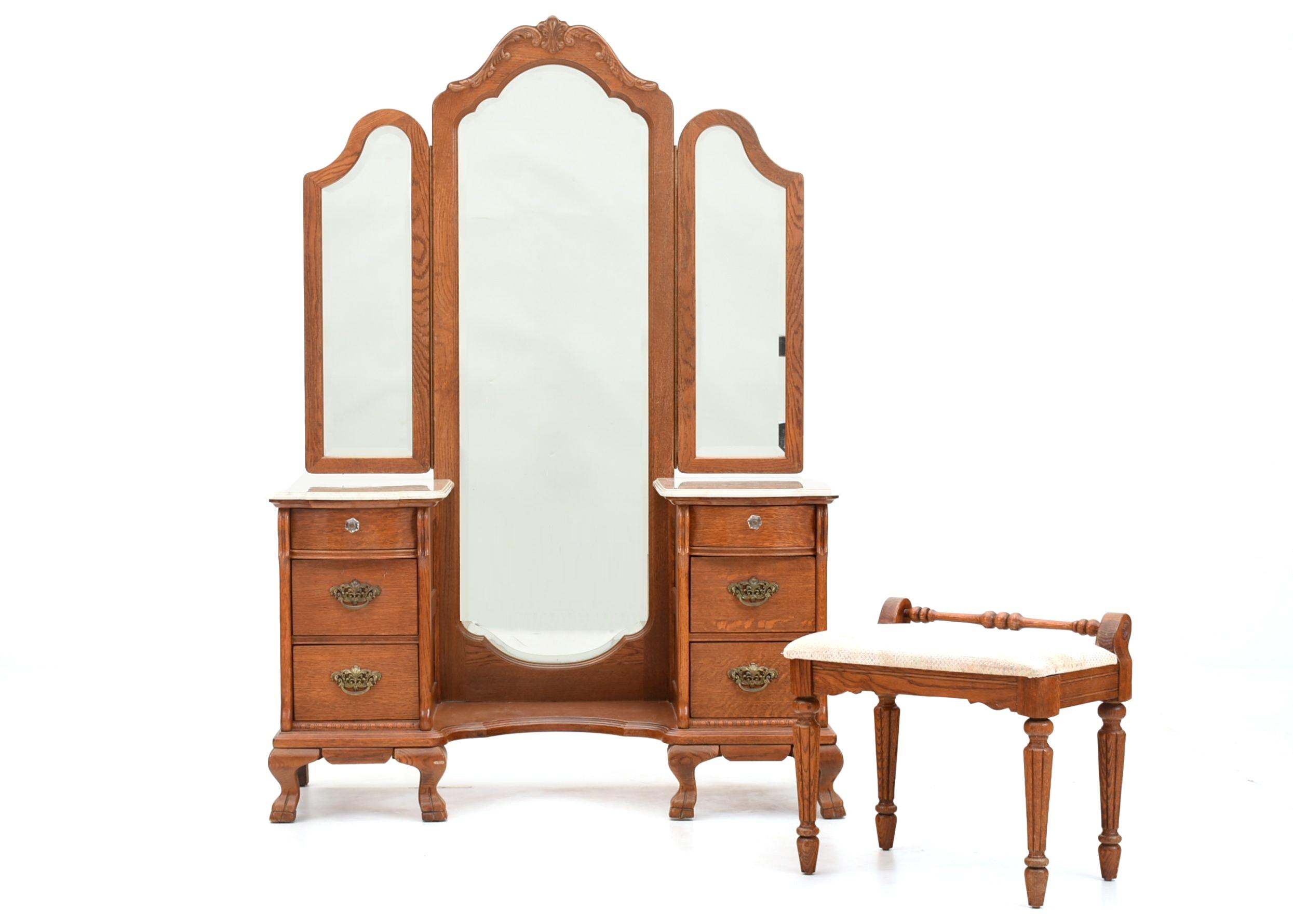 Lexington Furniture Victorian Sampler Collection Vanity