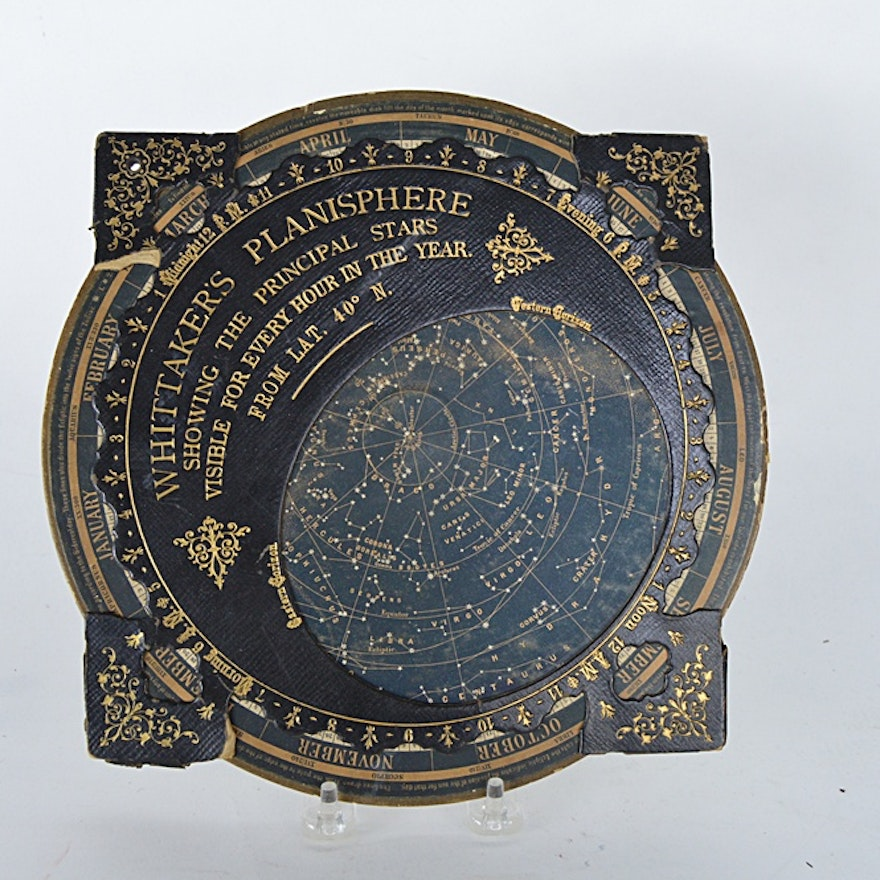 Antique Whittaker's Planisphere