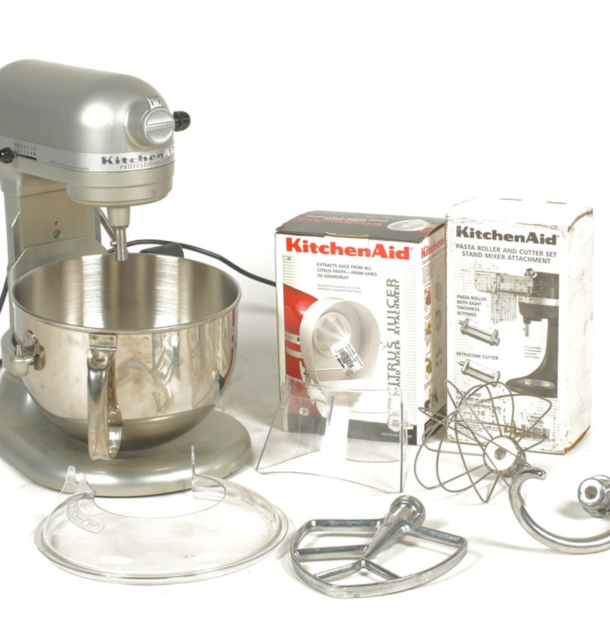 KitchenAid Professional 600 Mixer and Accessories : EBTH