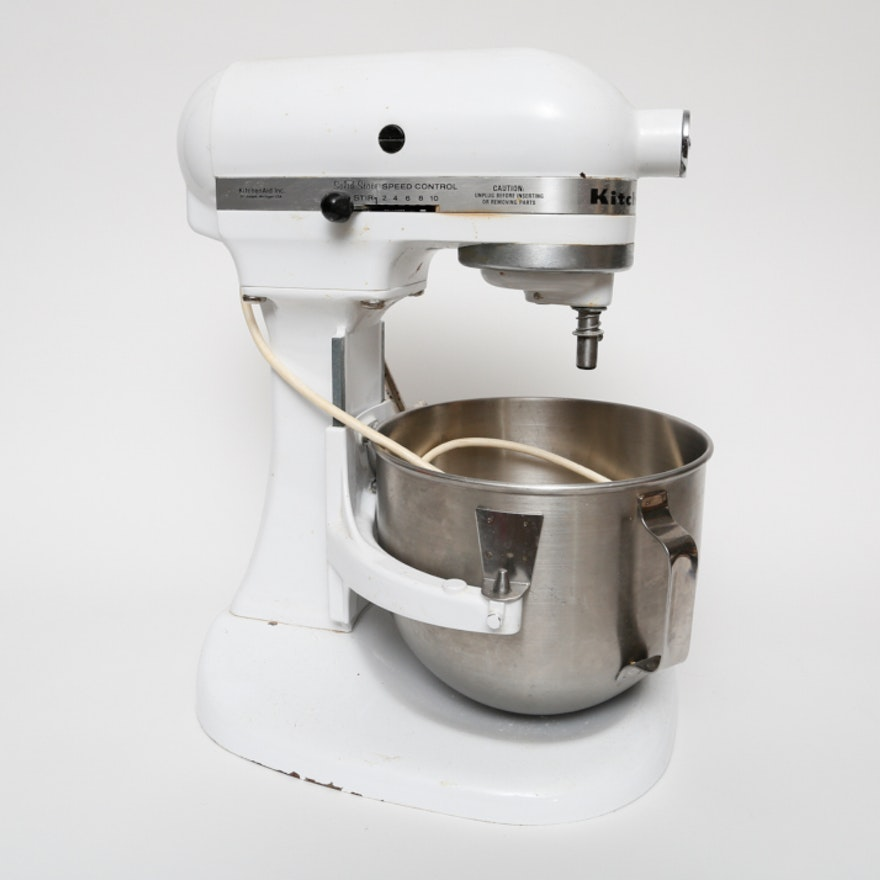 Vintage KitchenAid Solid State K5SS Mixer