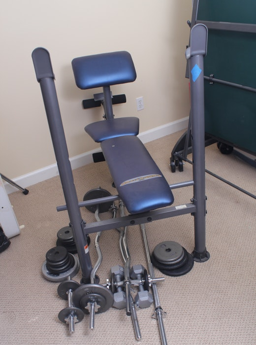 Impex Competitor Weight Bench ...
