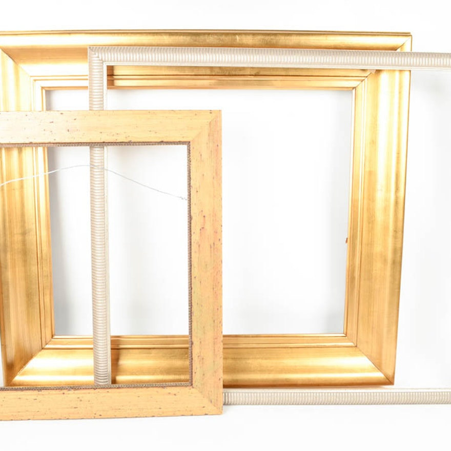Trio of Large Open Back Frames : EBTH