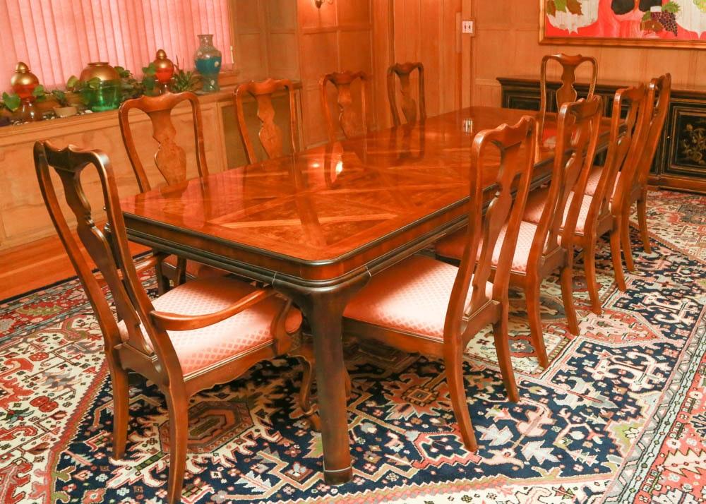 Drexel Heritage Connoiseur Dining Room Set ...