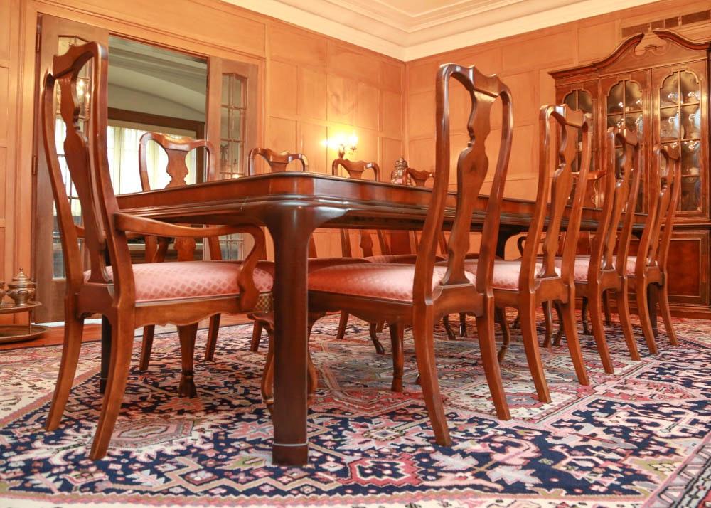 drexel heritage connoiseur dining room set ebth