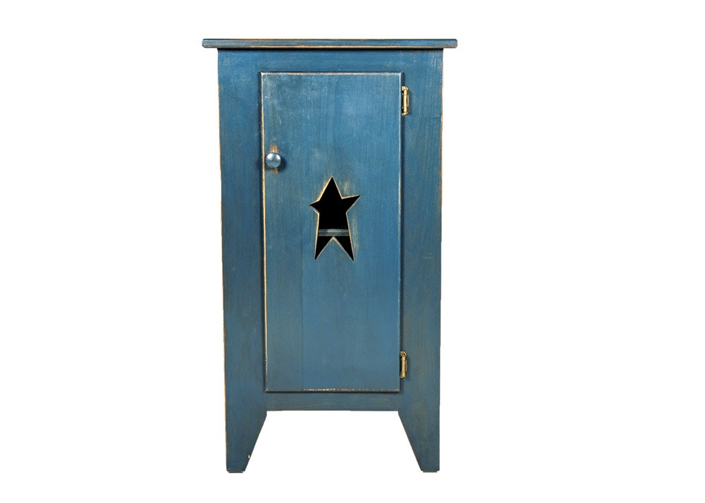 Primitive Style Handmade Cabinet
