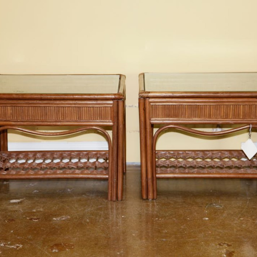 South Seas Collection Patio Side Tables