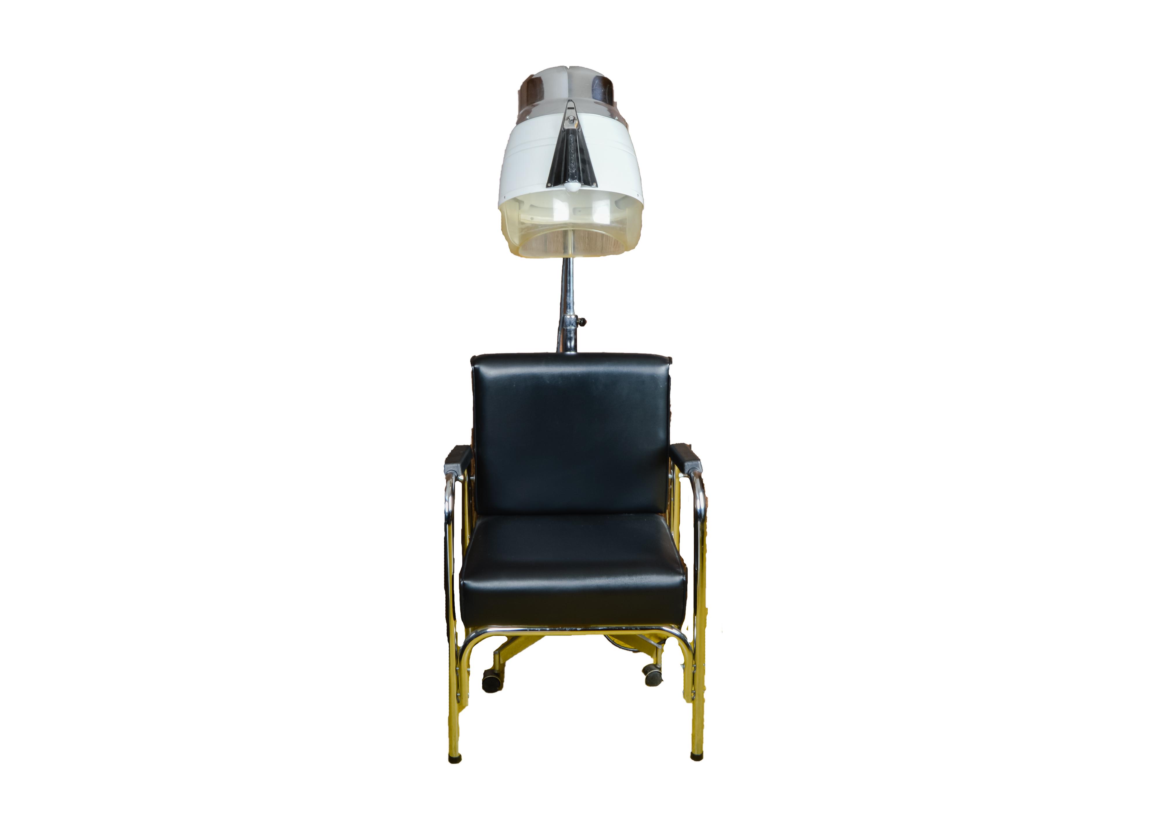 Speed King Salon Hair Heat Lamp and P.S. Pibbs Salon Chair : EBTH