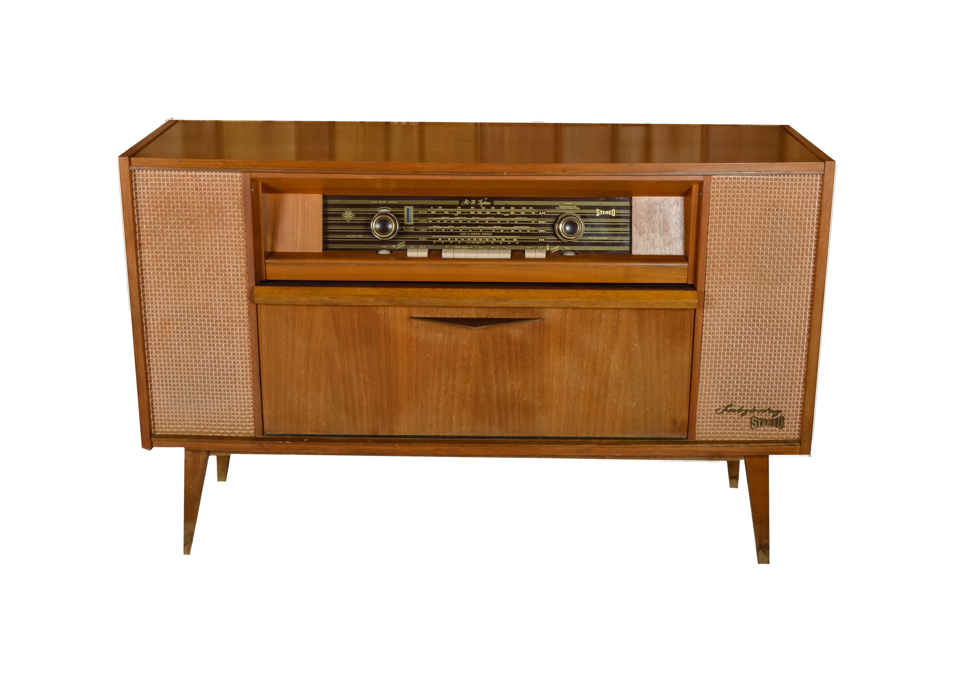 Superieur Vintage Telefunken Stereo Cabinet ...