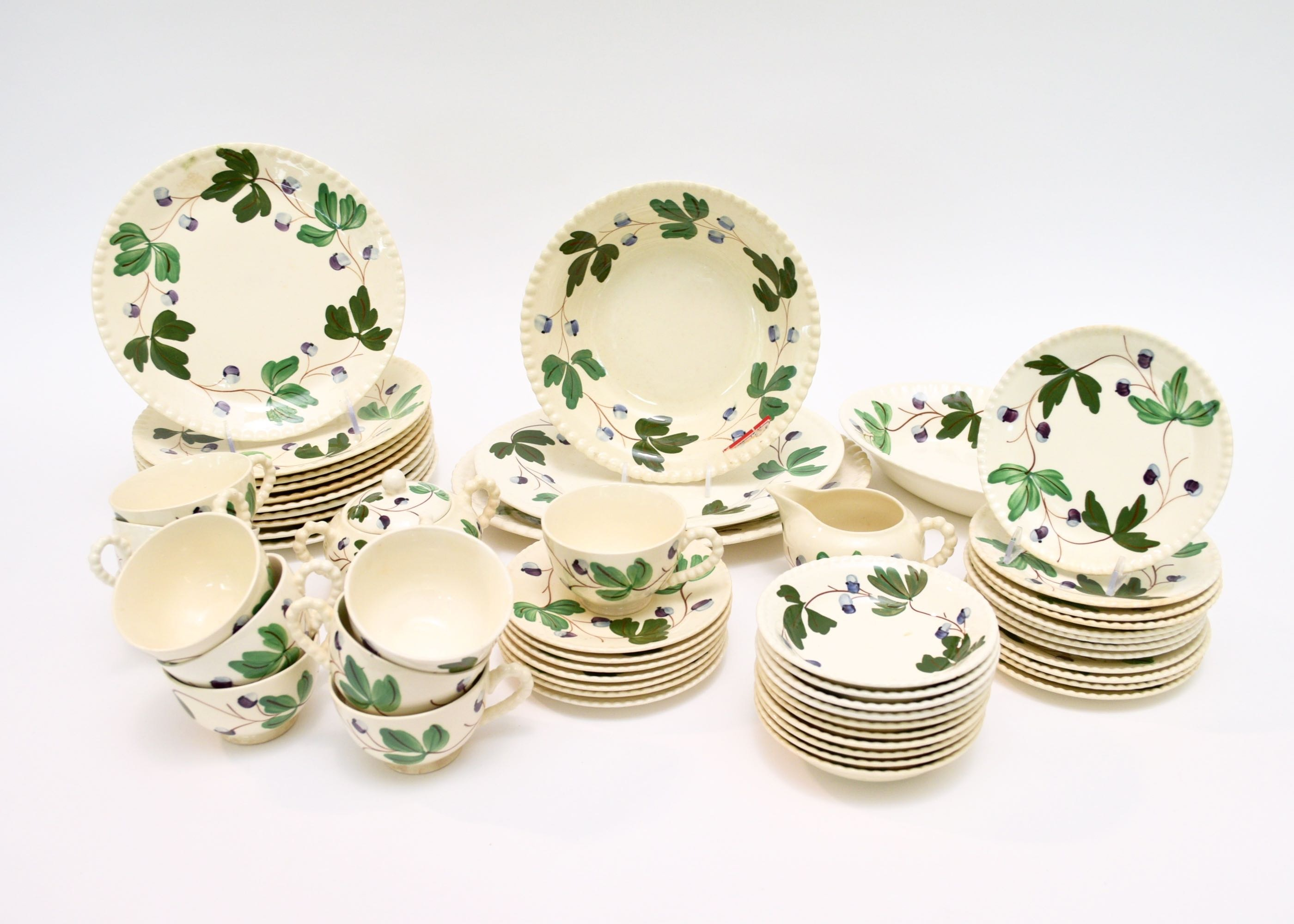 Mountain Ivy  Blue Ridge Southern Pottery China Dinnerware ...  sc 1 st  EBTH.com & Mountain Ivy
