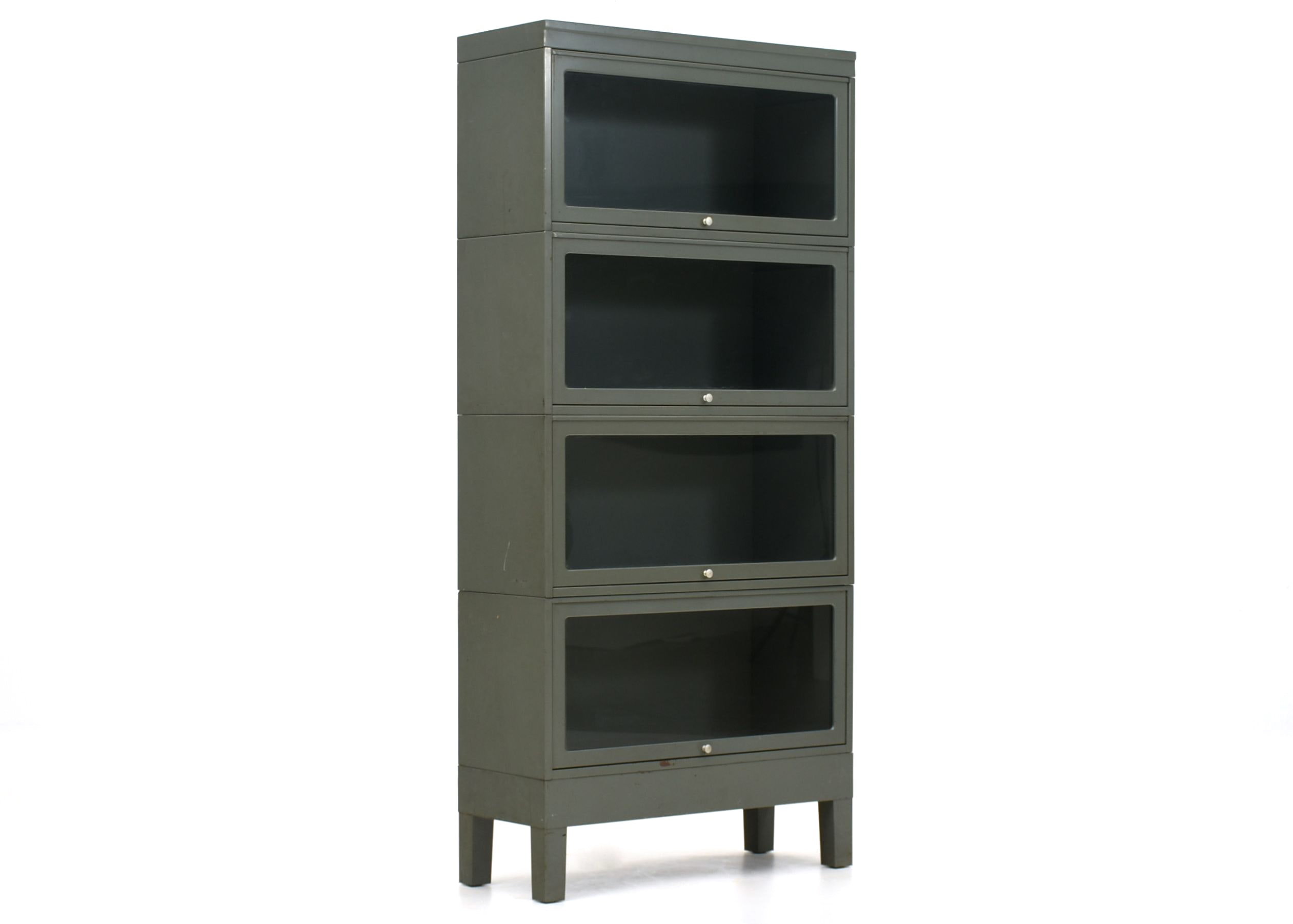 Globe Wernicke Stacking Metal Barrister Bookcase ...