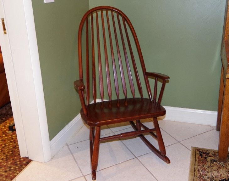 S Bent Amp Bros Vintage Rocking Chair Ebth