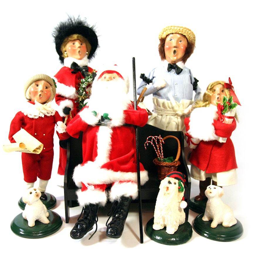 Vintage 1987 Buyers Choice Carolers Boy Girl Christmas: Byers' Choice Christmas Carolers : EBTH