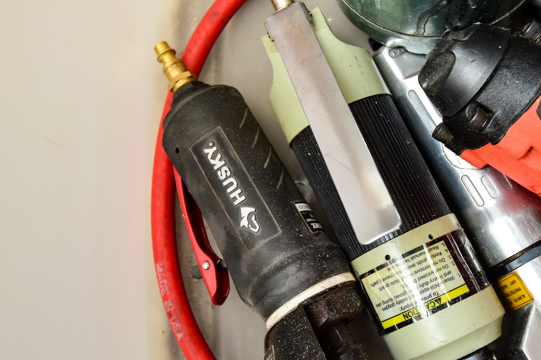 Central Pneumatic Air Compressor And Husky Tools Ebth