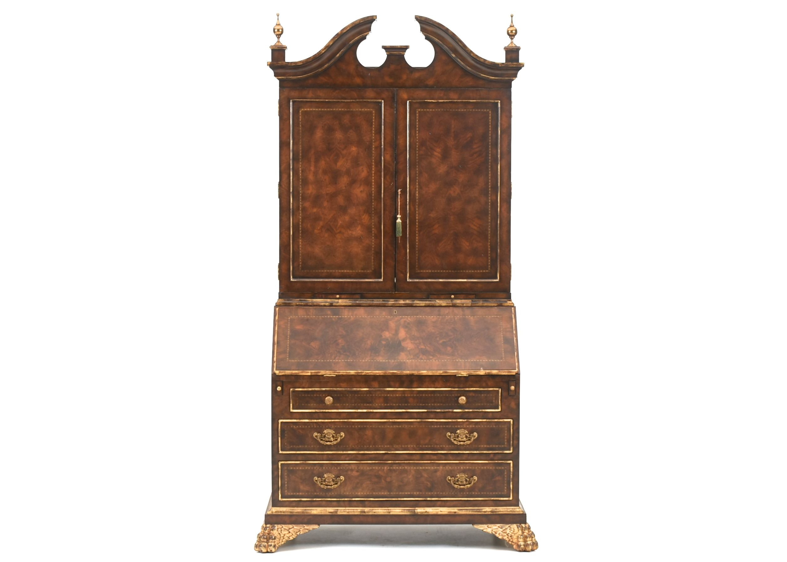 Maitland Smith Desk With Hutch ...