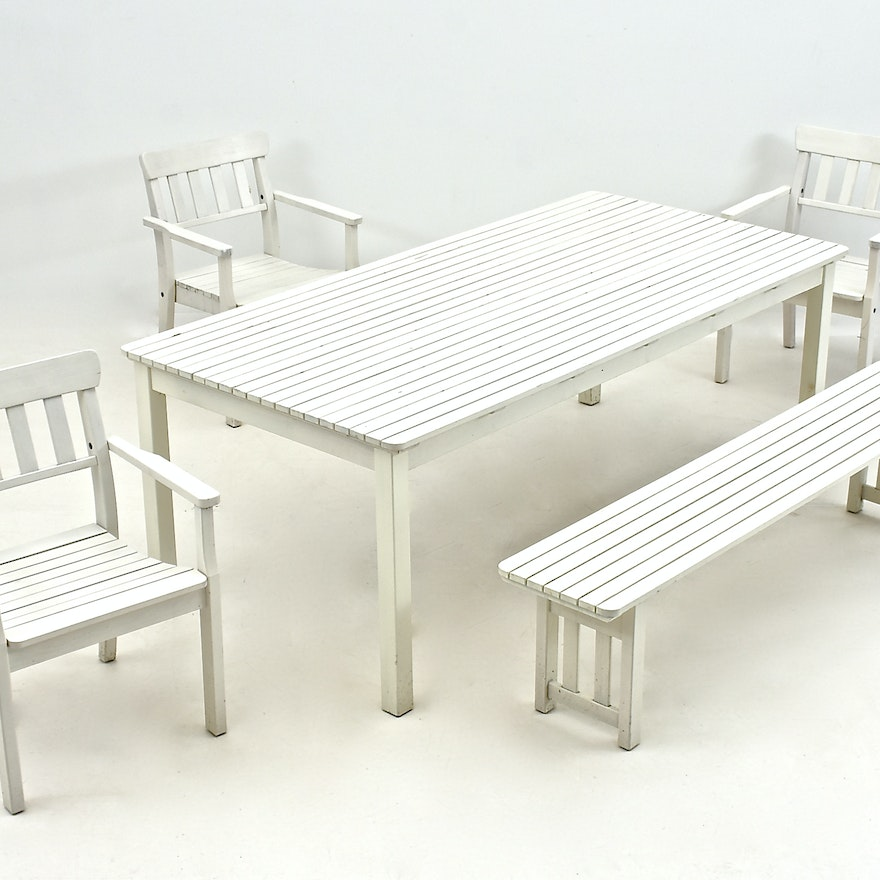 Surprising Ikea Outdoor Furniture Set In White Gmtry Best Dining Table And Chair Ideas Images Gmtryco