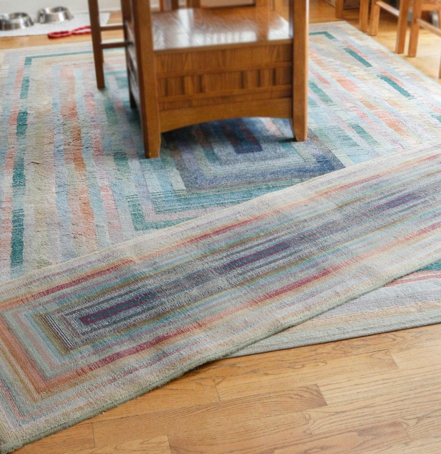 egyptian area rug and runner ebth