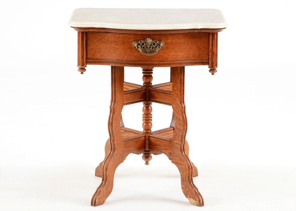 Nice Lexington Furniture Victorian Sampler Collection End Table Search Results  Ebth