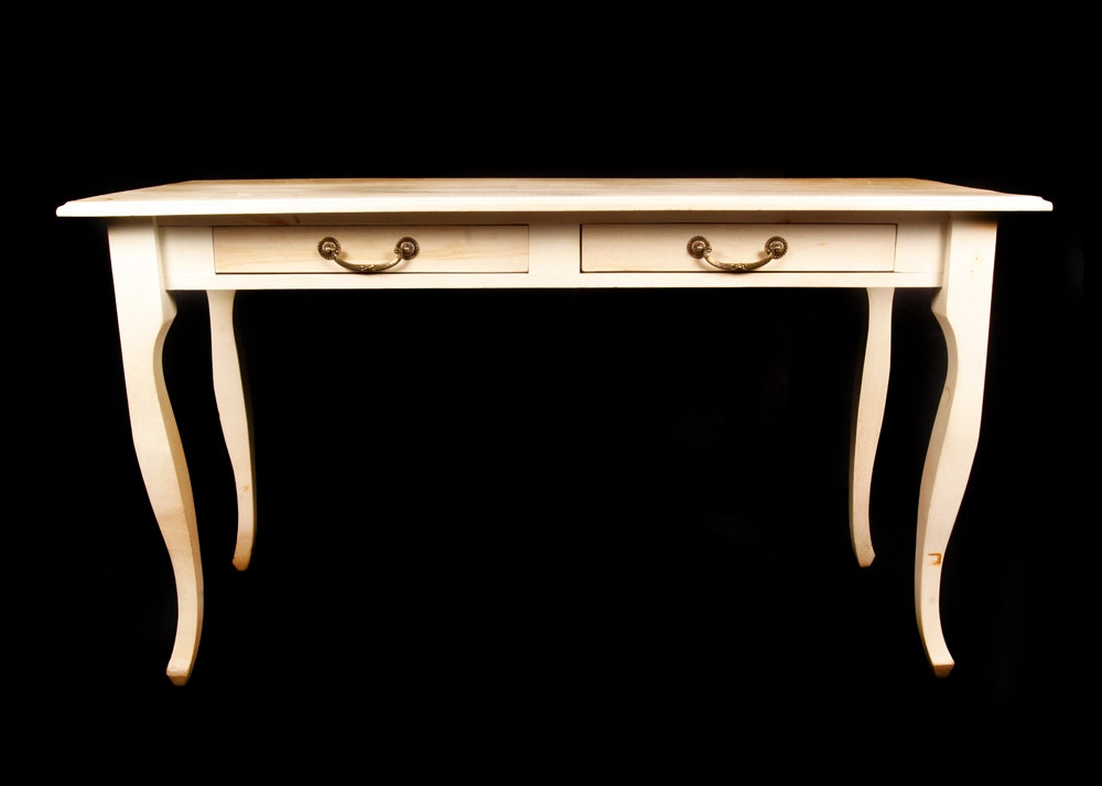 British Traditions Country Furniture Wooden Desk ...