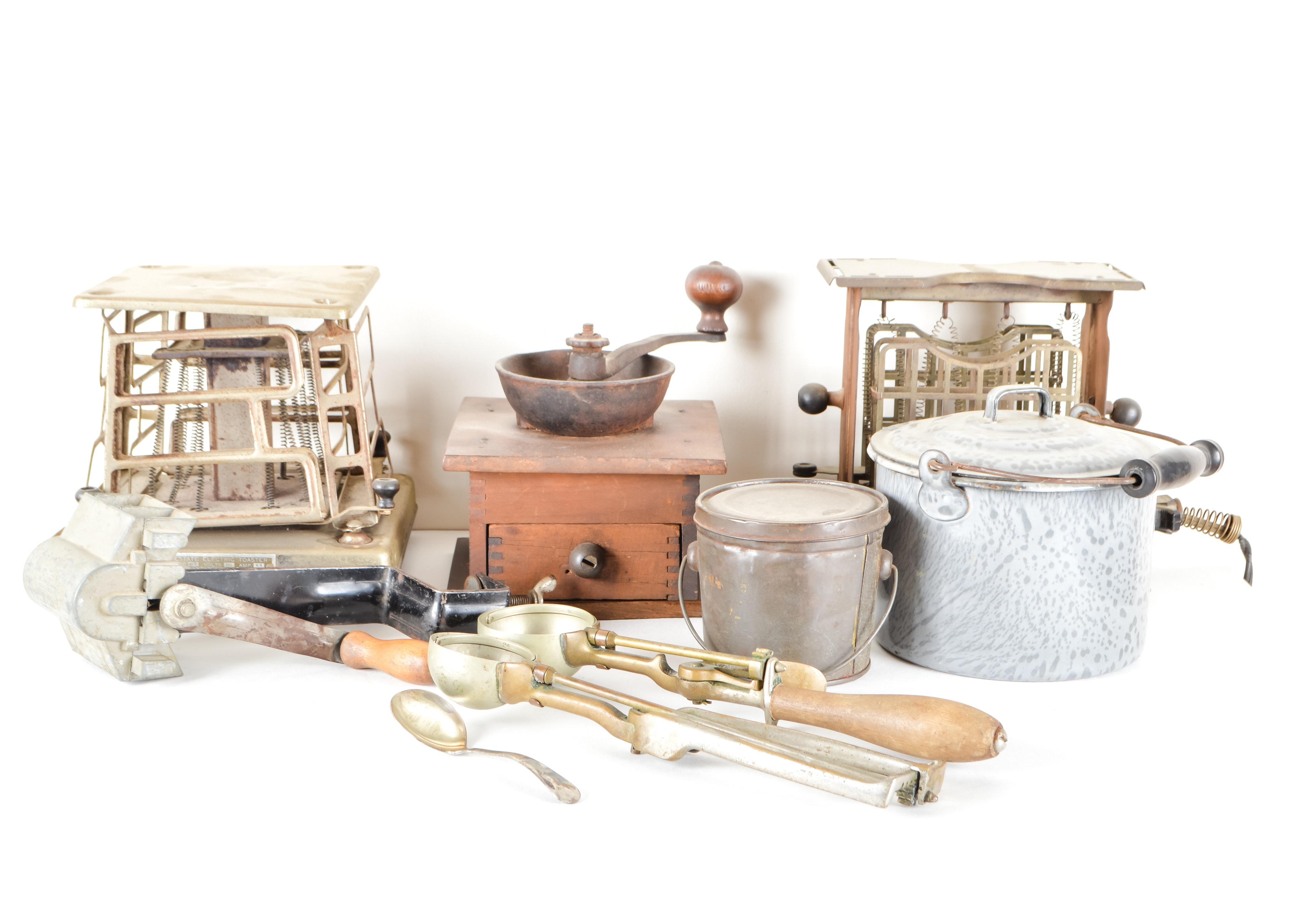 Collection Of Vintage Kitchen Accessories : EBTH