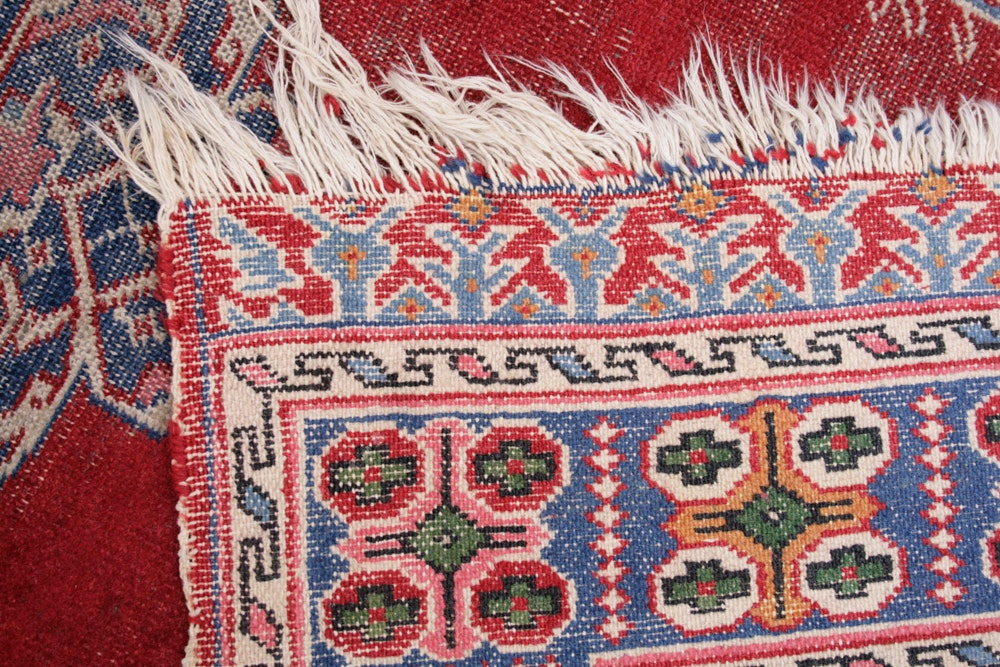 Hand Knotted Persian Mihrab Prayer Rug Ebth