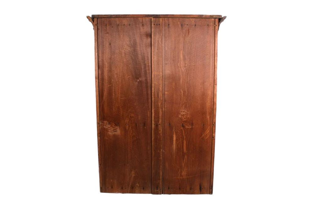 19th Century American Walnut Secretary Bookcase Ebth
