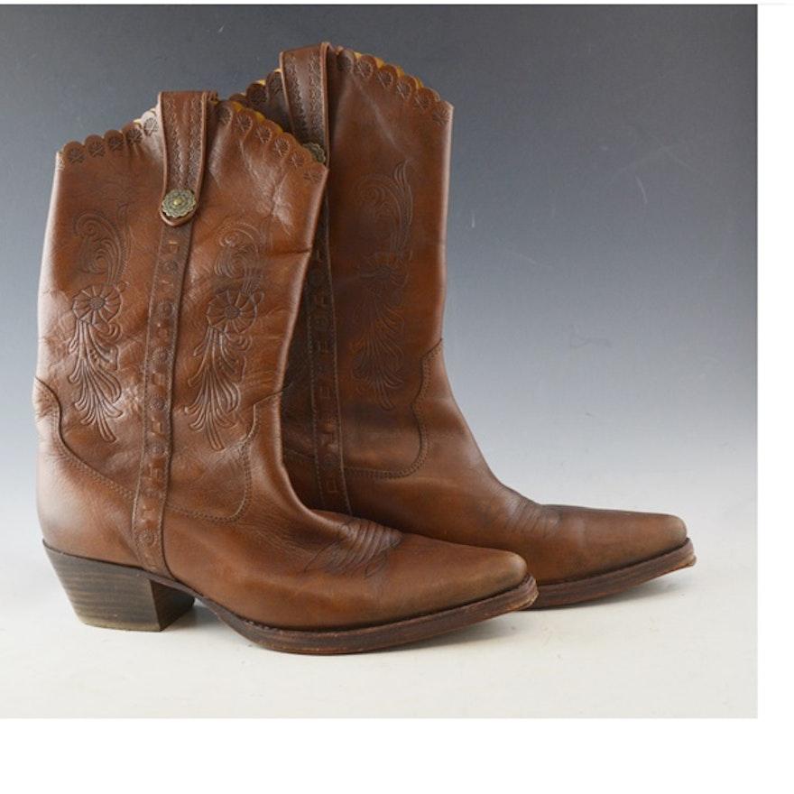4c581771f36 Aldo Western Style Cowboy Boots