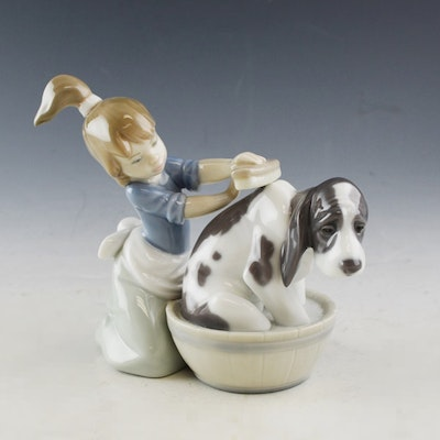 Porcelain dishware porcelain collectibles and porcelain decor in indian hill oh fine art - Consider including lladro porcelain figurines home decoration ...