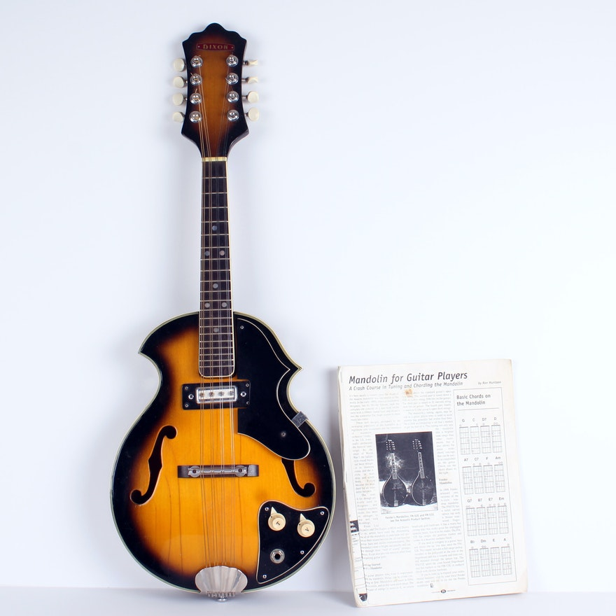 Vintage 1968 Electric Mandolin Ebth