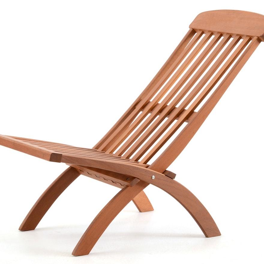 Pier 1 Wooden Folding Chair