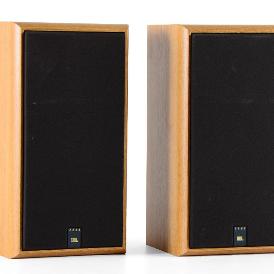 Pair of JBL 2600 Speakers