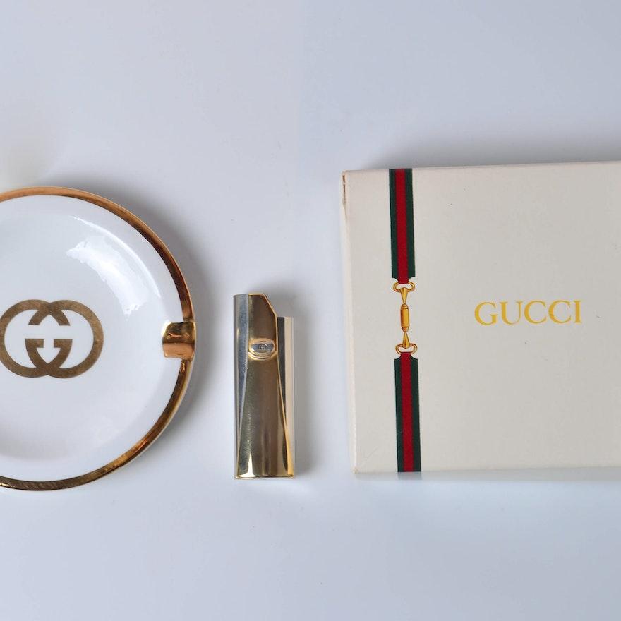 Vintage Gucci Smoking Accessories