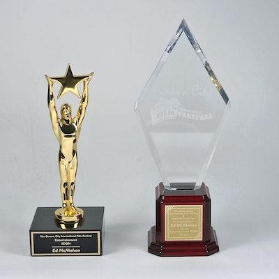 Pairing of Entertainment Icon Awards Presented to Ed McMahon