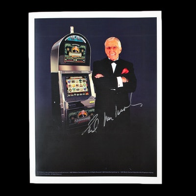 Autographed Promotional Photograph of Ed McMahon