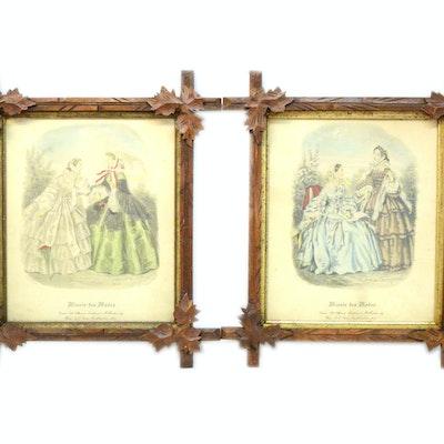 Online art auctions fine art auctions estate art sale for Miroir des modes value