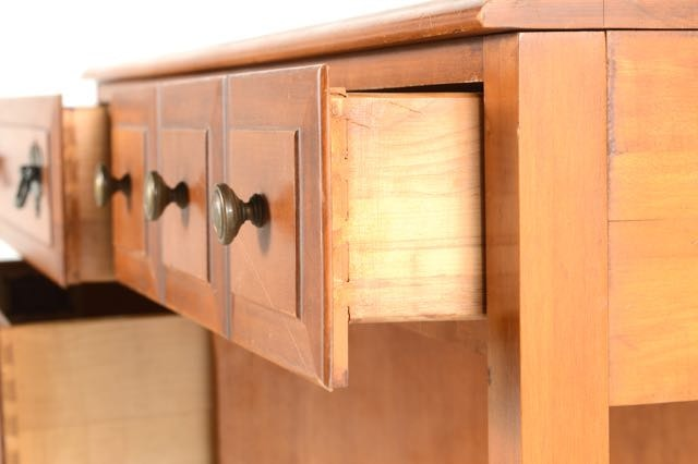Maple desk by sterling house furniture ebth for Sterling house