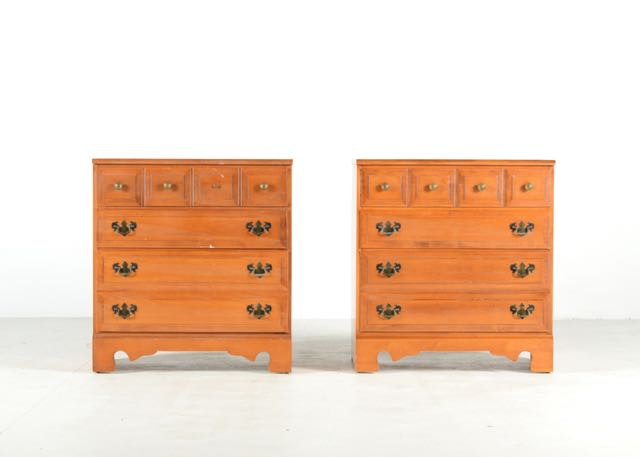 Pair Of Maple Chests By Sterling House Furniture ...
