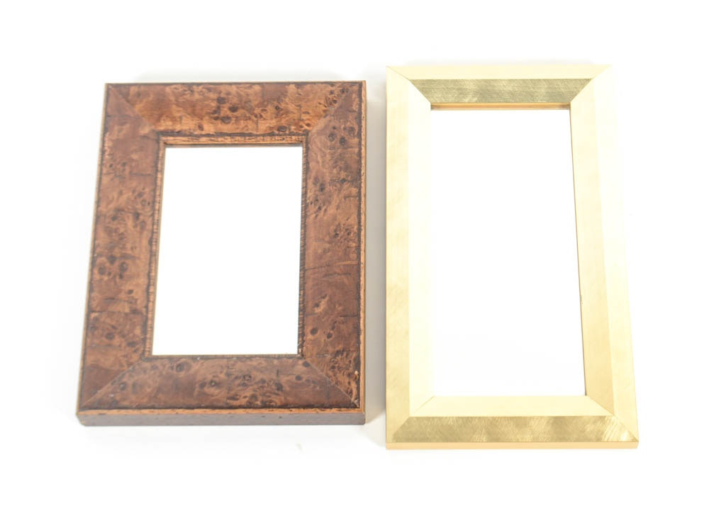 Pair of small wall mirrors ebth for Small wall mirrors