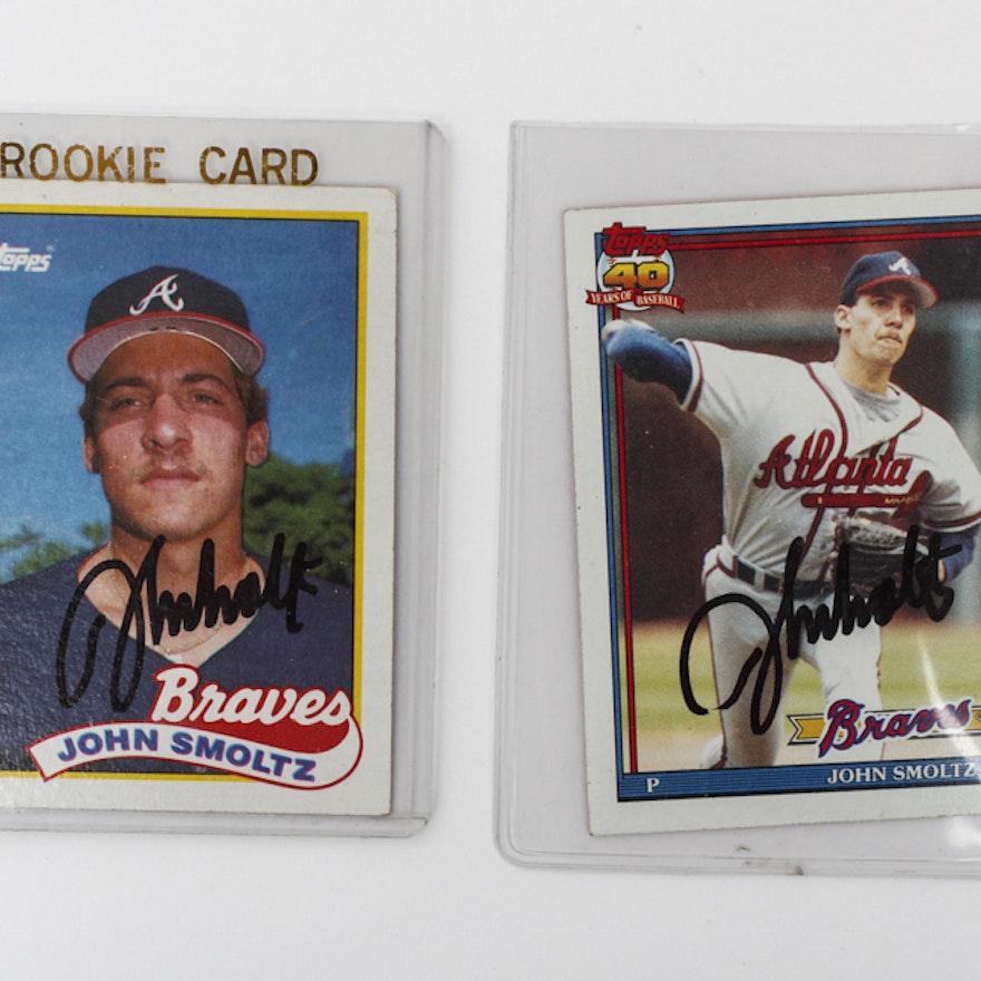 John Smoltz Rookie Cards
