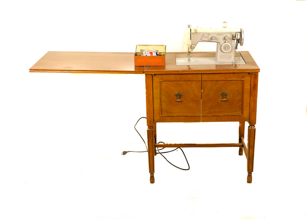 Vintage Sewing Cabinet : EBTH