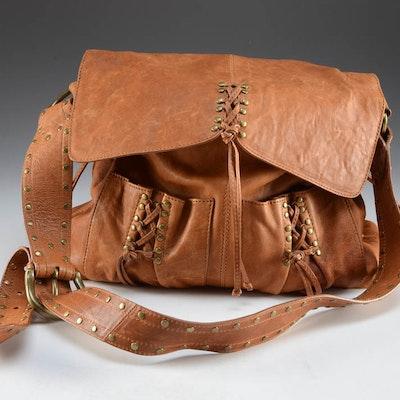 Kooba Annie Lamb Skin Leather Bag