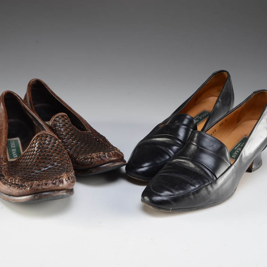 9809f9b9d06 Two Pair of Women s Cole Haan Loafers   EBTH