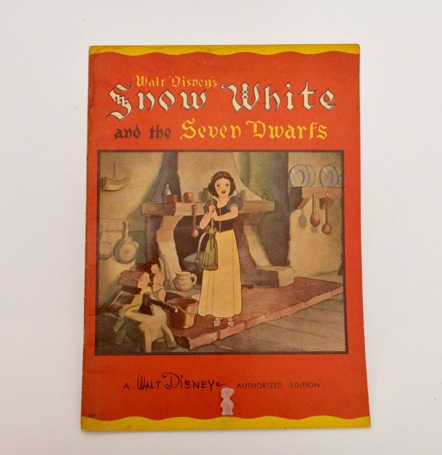 1938 Snow White and the Seven Dwarfs - Walt Disney ...