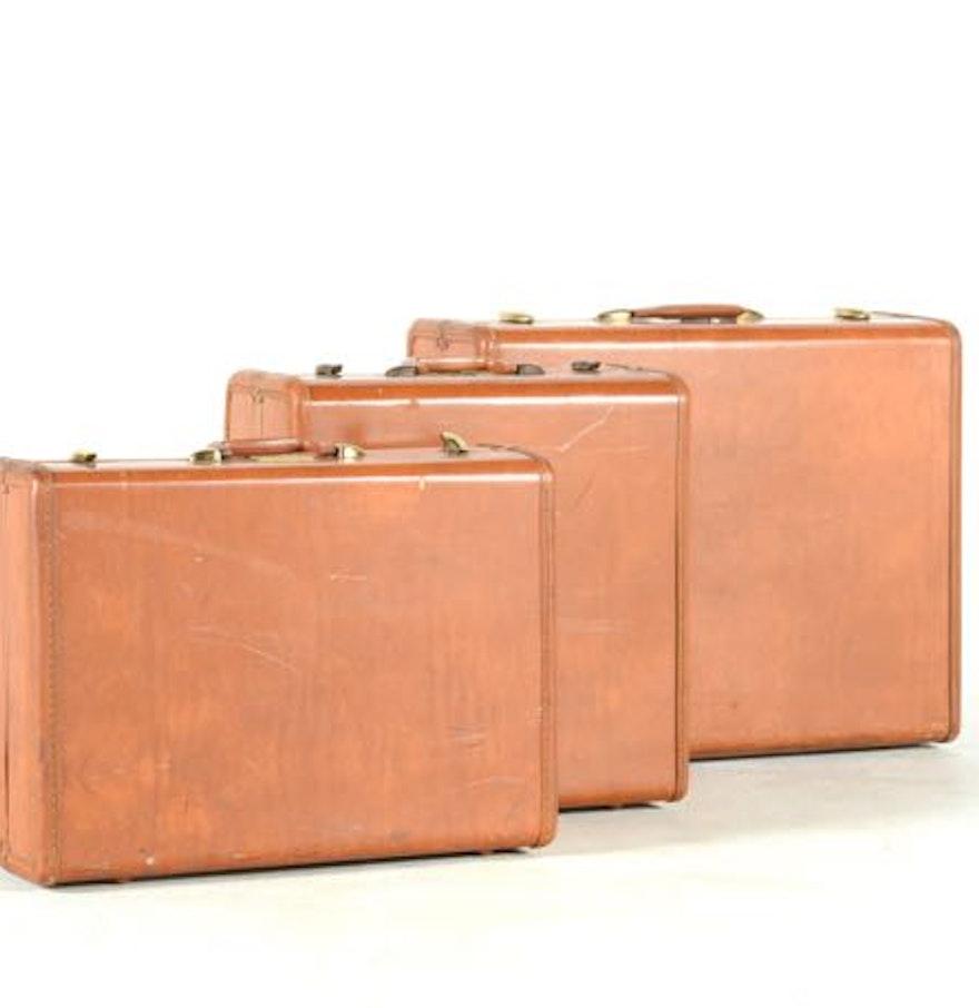 Vintage Luggage Set 80