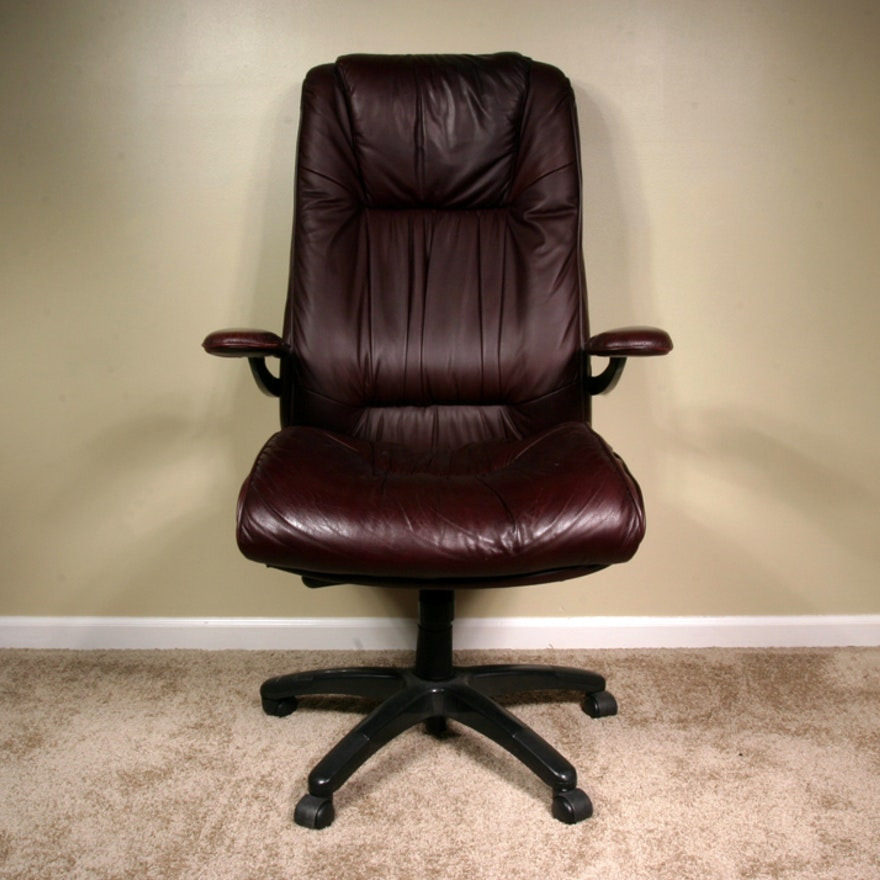 Lane Furniture Leather Upholstered Office Chair