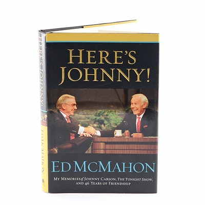 """Autographed Copy of """"Here's Johnny!"""" by Ed McMahon"""