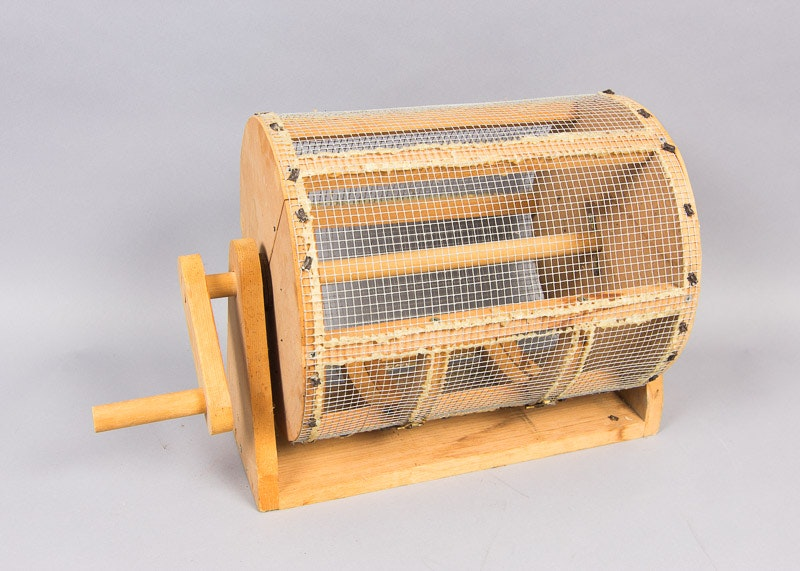 handmade raffle drum 1x1